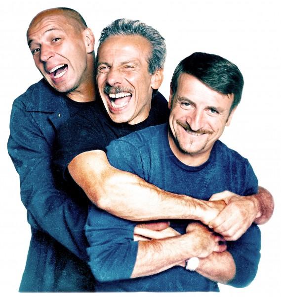 """Aldo Baglio racconta il Trio nel libro """"Tre uomini e una vita"""""""
